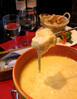 イタリアチーズのとろとろチーズフォンデュ