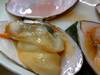 旬の貝 万寿貝の醤油バター焼き