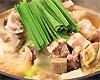 牛すじの味噌煮込み鍋