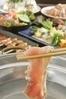 旬野菜と国産銘柄鶏しゃぶしゃぶ鍋