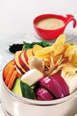 有機野菜の蒸バーニャカウダ