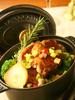 イベリコ豚と季節野菜の白ワイン蒸し