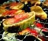 イベリコ豚 タン 燻製焼き