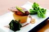 アン肝と大根のステーキ