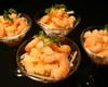 海老と芋のコチジャンマリネ