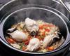 牡蠣の炊き込み土鍋ご飯
