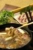 そば屋の鴨ぬき鍋