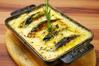 牡蠣と南瓜のクリームグラタン