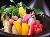 蒸し野菜の味噌バーニャカウダ