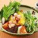 十種野菜の豆腐サラダ