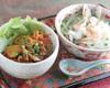 本日のベトナム風ご飯とミニフォーセット