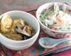 ベトナム風チキンカレーとミニフォーセット