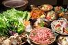 野菜と自然豚のヒアルロン酸入り美肌とまと鍋コース