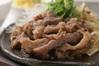 プルコギ丼とミニ冷麺定食