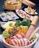 寒鰤の和風カルパッチョと有田鶏の柚子塩ちゃんこ鍋コース