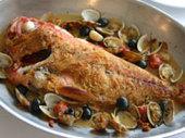 鮮魚のアクアパッツァ