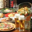 料理8品 4000円コース
