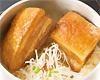 豚の角煮釜飯 とんこつ茶漬けで