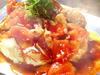 トマトお好み焼き