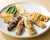 北の黄金鶏 味くらべ串盛り7点