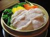 梅山豚と野菜のセイロ蒸し