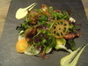 野菜と京イモと紅ズワイガニのクロケットのサラダ