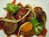 ◆蝦夷ジカのローストフォアグラ添え又は黒毛和牛フィレ肉とフォアグラのロースト