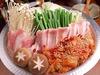 黒豚トントロ辛味キムチ鍋