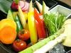 有機野菜のお造り