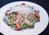 刻(きざみ)のサラダ きのことベーコンの温玉胡麻サラダ