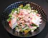 お豆腐と鶏ささみのシーザーサラダ