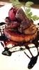 フランス産フォアグラと焼きリンゴのソテー
