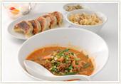 ランチ坦々麺セット