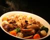 鶏もも肉のオーブン焼にんにく醤油ソース