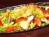 海の幸と野菜の海サラダ