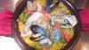 三重県産的矢ガキと天然真鯛の海鮮パエリア