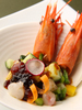 牡丹海老と彩り野菜のヒアルロン酸クラッシュゼリー