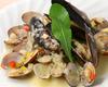 ムール貝とアサリのバターグリル