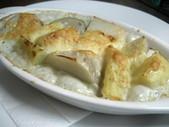 里芋とジャガイモのチーズグラタン