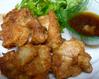 地鶏の唐揚げ おろしポン酢