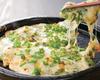 チーズのカリカリ石焼チヂミ