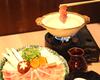 日本三大地鶏『純系名古屋コーチン』を しゃぶしゃぶで頂ける上質な鶏会席♪