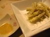 ゴボウの天ぷら
