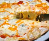 自家製うす焼きピザ