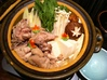 鶏骨付き肉水炊き鍋