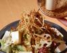 京とうふ藤野 牛蒡、蓮根、お豆腐の金胡麻サラダ