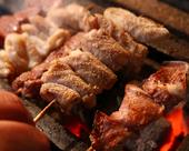 地鶏の串焼き