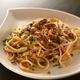 生うにとルッコラのスパゲッティ