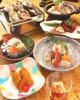 牡蠣とあわびの贅沢コース