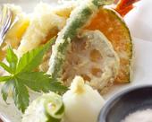 旬魚旬菜の天麩羅